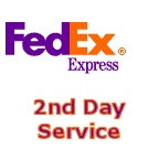 Fedex Second day air
